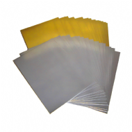 300gsm Mirror Card Stock, Gold or Silver. A6, A5 & A4 Sheet Size